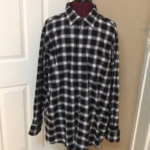 Mens Size 2XL Shirt By Claiborne Stretch
